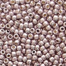Toho 11/0 Seed Beads Permanent Finish Galvanised Lilac PF554 - 10 grams